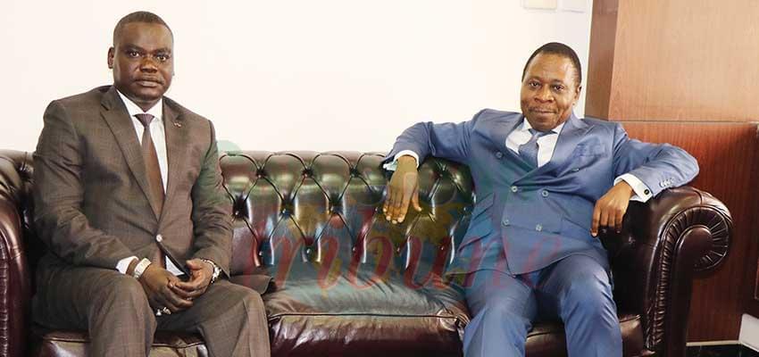 Bonne entente entre les deux ministres.