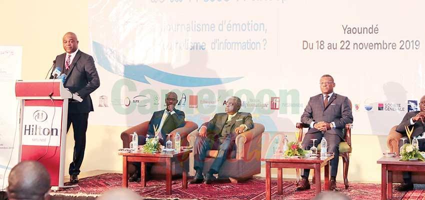 48 e assises : Yaoundé, capitale de la presse francophone