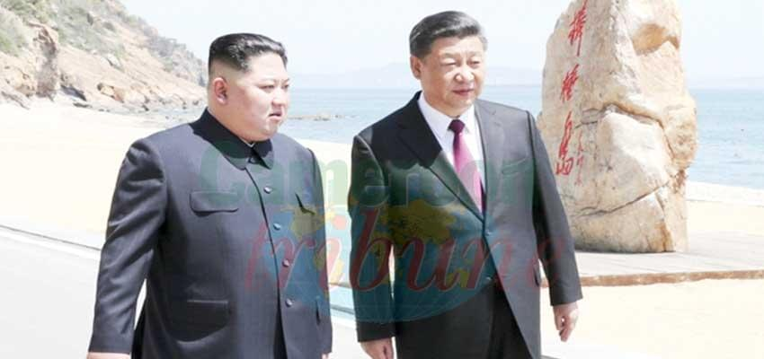 Image : China:North Korean Leader On State Visit