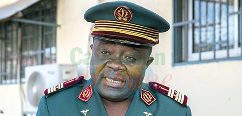 Colonel médecin Abeng Mbozo'o, directeur de la Santé militaire au MINDEF.