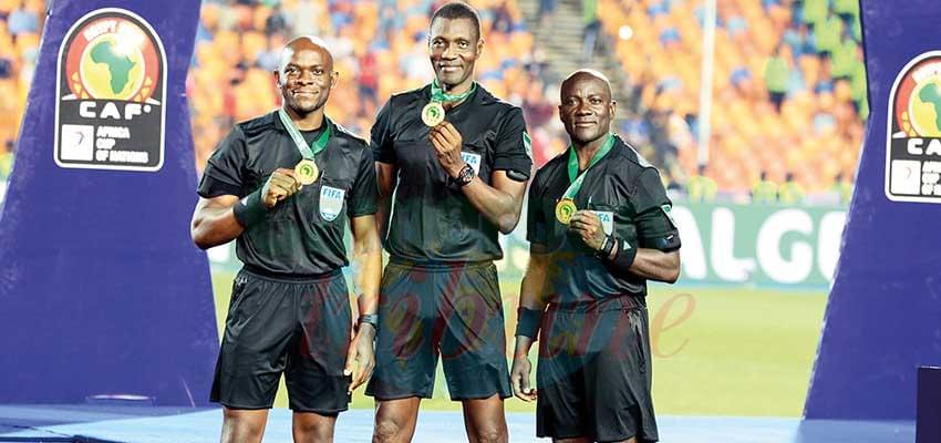 Cameroon trio did a good job.
