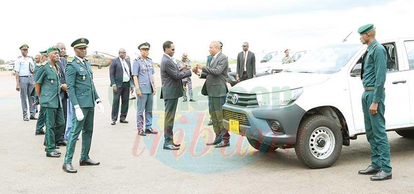 Renforcement des capacités opérationnelles : 157 nouveaux véhicules pour les forces de défense