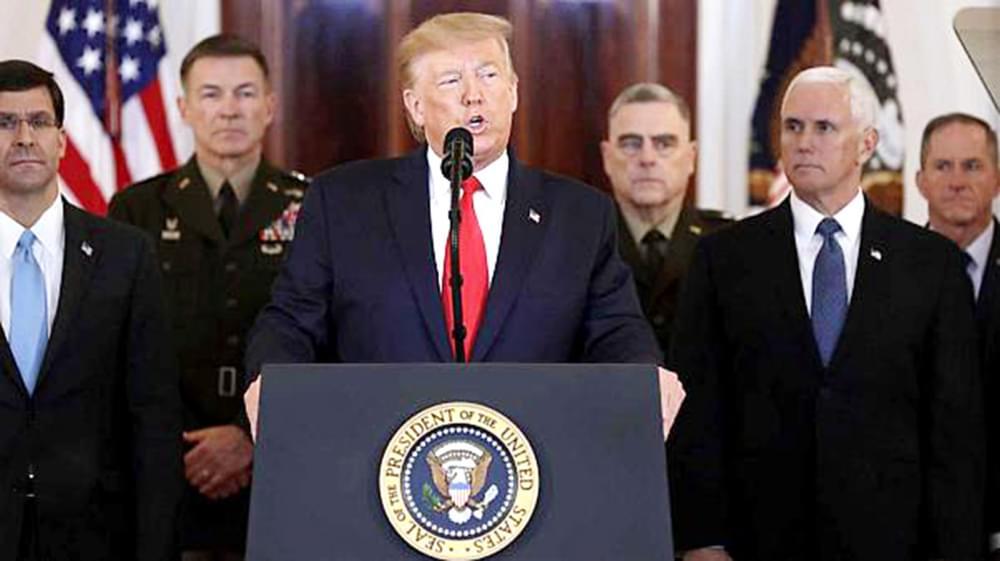 Frappes iraniennes en Irak : la mise en garde de Trump