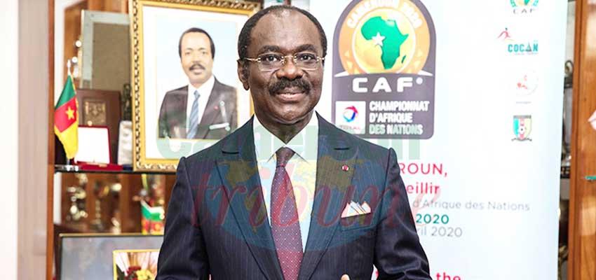 Narcisse Mouelle Kombi, président du Comité local d'organisation du CHAN 2020.
