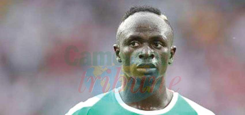 Sadio Mane captain of the Senegalese national team.