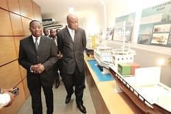 Douala: le Minac en immersion au Musée maritime