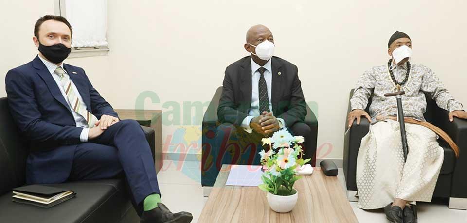 Cameroun-Royaume-Uni : le haut-commissaire reçu au Conseil régional