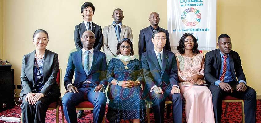 Formation professionnelle au Japon : l'aurevoir aux bénéficiaires camerounais