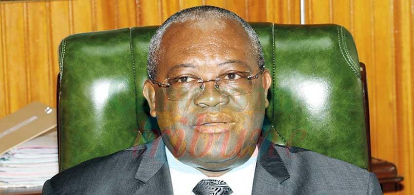 Joseph LE, ministre de la Fonction publique et de la Réforme administrative.