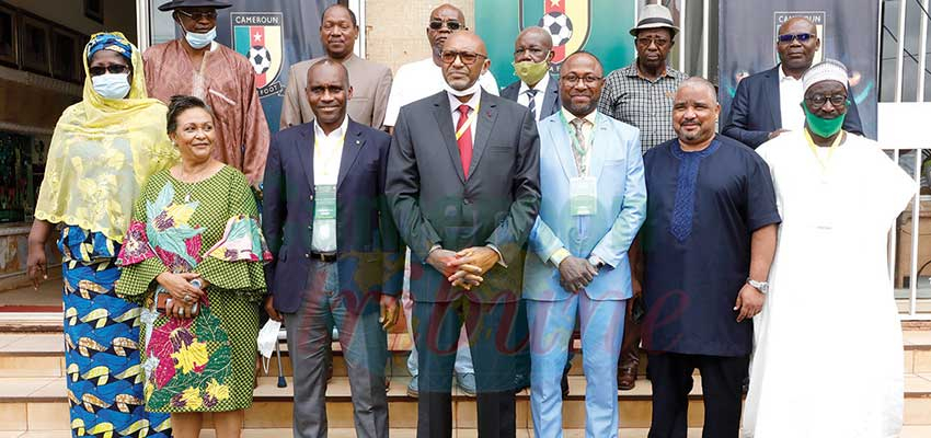 FECAFOOT : Executive Committee Members Deliberate