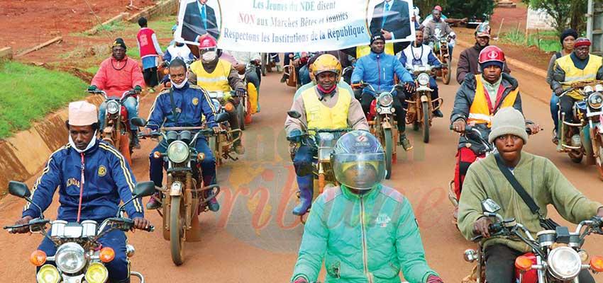 Bangangté  : les conducteurs de moto-taxis non partants
