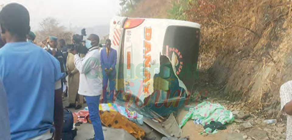 Accident de la route : six morts sur la falaise de Mbé