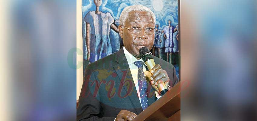Professor Emeritus Robert Leke, President of the Society of Gynaecologists and Obstetricians of Cameroon (SOGOC).