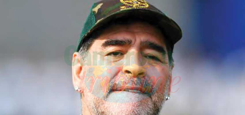 Décès de Stephen Tataw : l'hommage de Diego Maradona