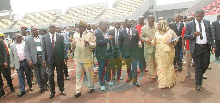 CHAN 20202 : Minister Inspects Buea, Limbe Sites