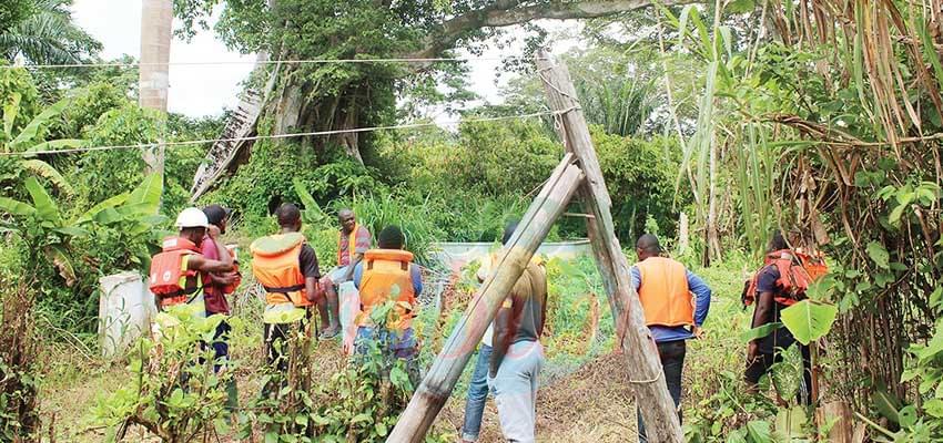 Ecole de terrain: des étudiants en immersion