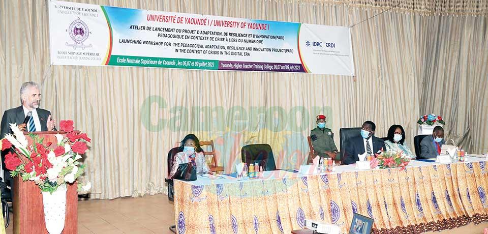 Innovation pédagogique en temps de crise  : l'Université de Yaoundé I s'organise