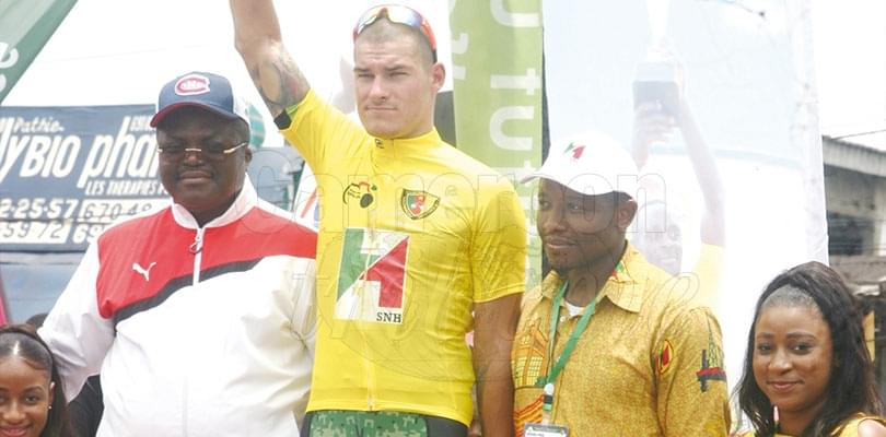 Image : Grand prix cycliste international Chantal Biya: un Slovaque en jaune
