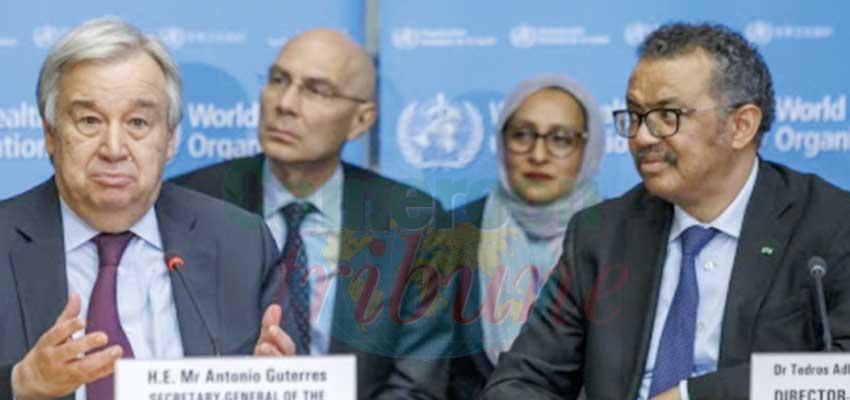 Lutte contre le Covid-19 : l'ONU cherche une stratégie globale