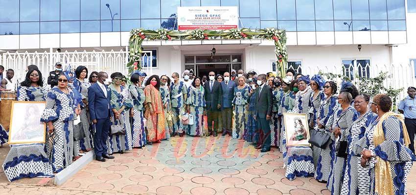 Groupement des femmes d'affaires du Cameroun : le nouveau siège inauguré