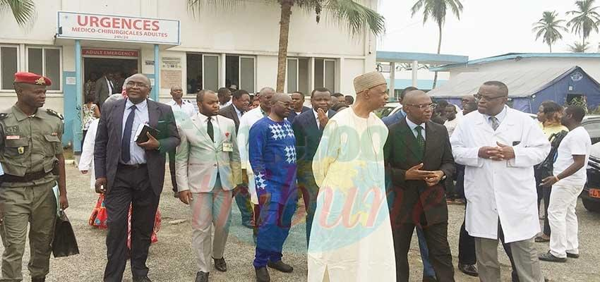 La visite surprise du Minsanté à Douala