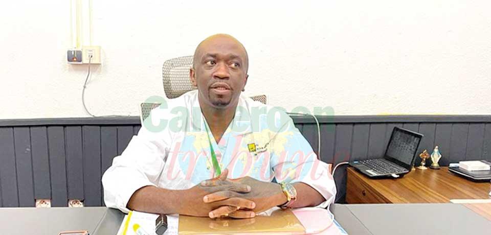 Dr Paul Eloundou Onomo, rhumatologue.