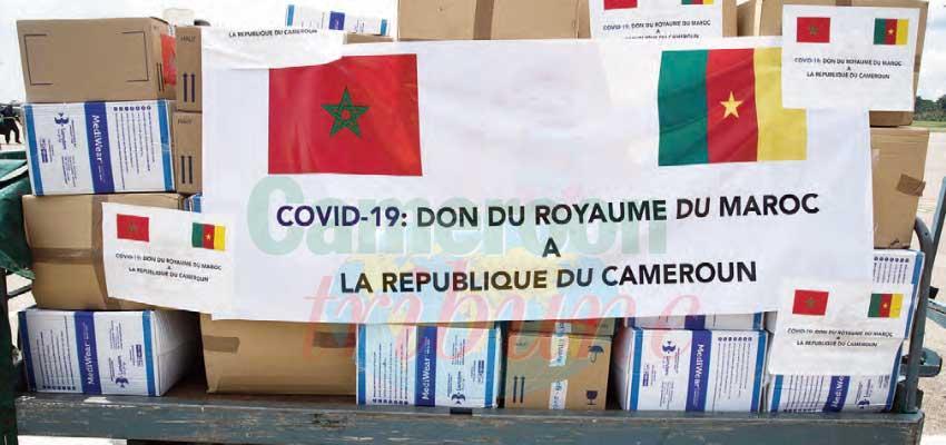 Lutte contre le coronavirus : le Maroc aux côtés du Cameroun