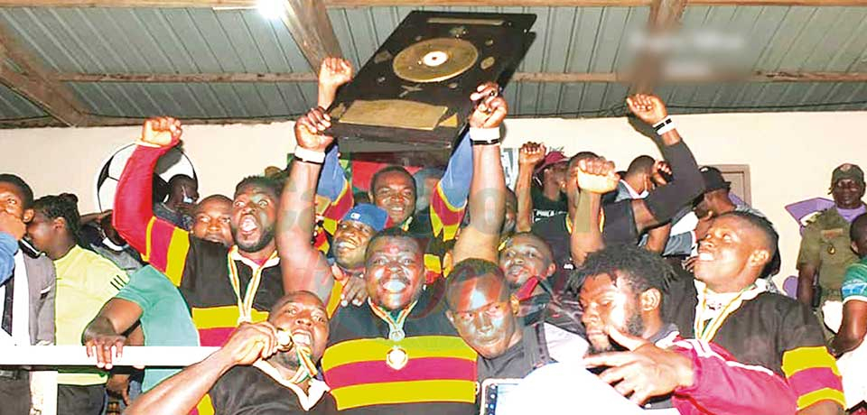Rugby Cup of Cameroon : Espoir RC, ADDAX Petroleum Lift Trophies