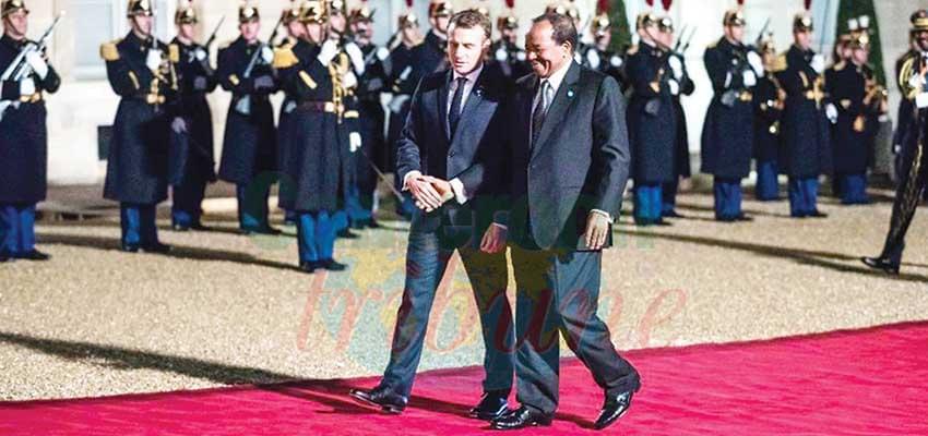 L'occasion de resserrer les liens entre Paris et Yaoundé