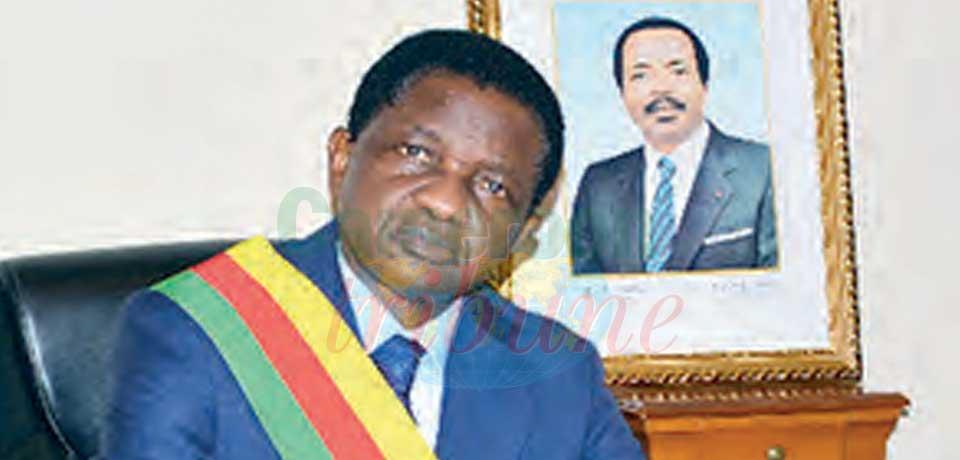 Augustin Tamba, maire de la commune d'arrondissement de Yaoundé VII