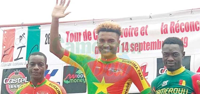 Cameroonian cyclist are determined to win.