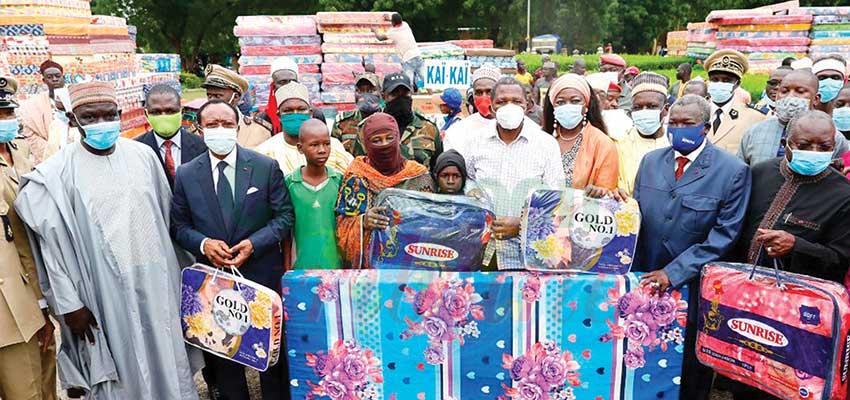 Cushioning Effects of Floods : Presidential Gifts Inundate Far North Region