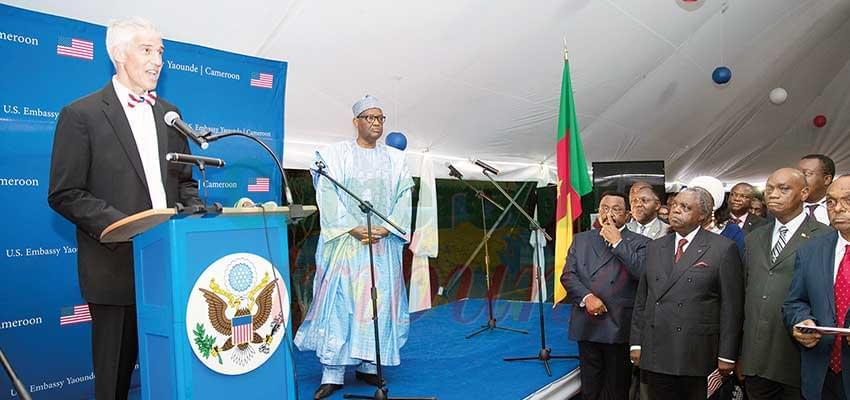 Peter Henry Barlerin a reconnu et salué l'hospitalité du peuple camerounais.