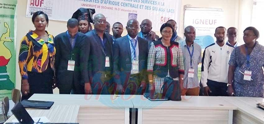 Ouest : des universitaires d'Afrique centrale se concertent