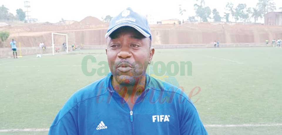 Guy Bertin Djiepnang, coach d'AS Fortuna.