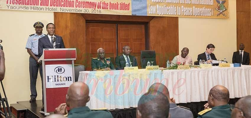Peace Operations: International Manual Presented In Yaounde