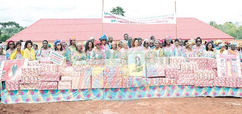 A view of Maman Rosette Women Empowerment Centre in Dimako.