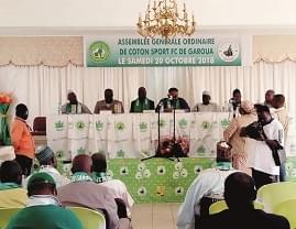 Image : Coton Sport de Garoua: objectif : Ligue des champions