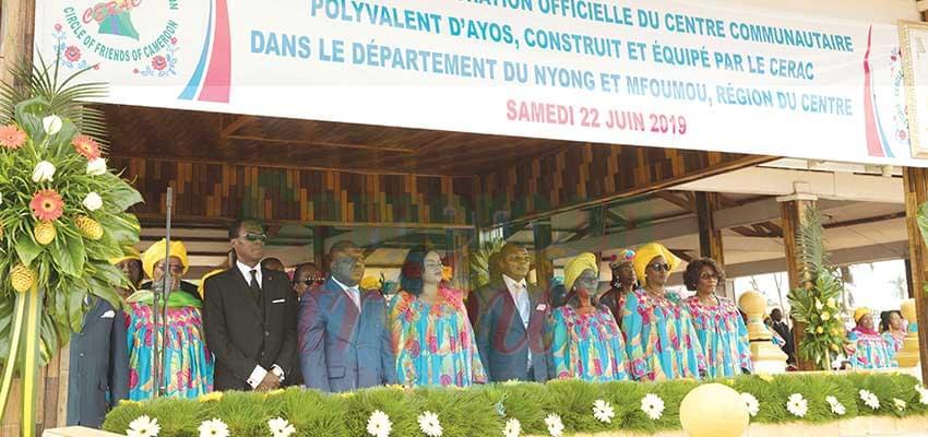 Le Nyong-et-Mfoumou honoré.