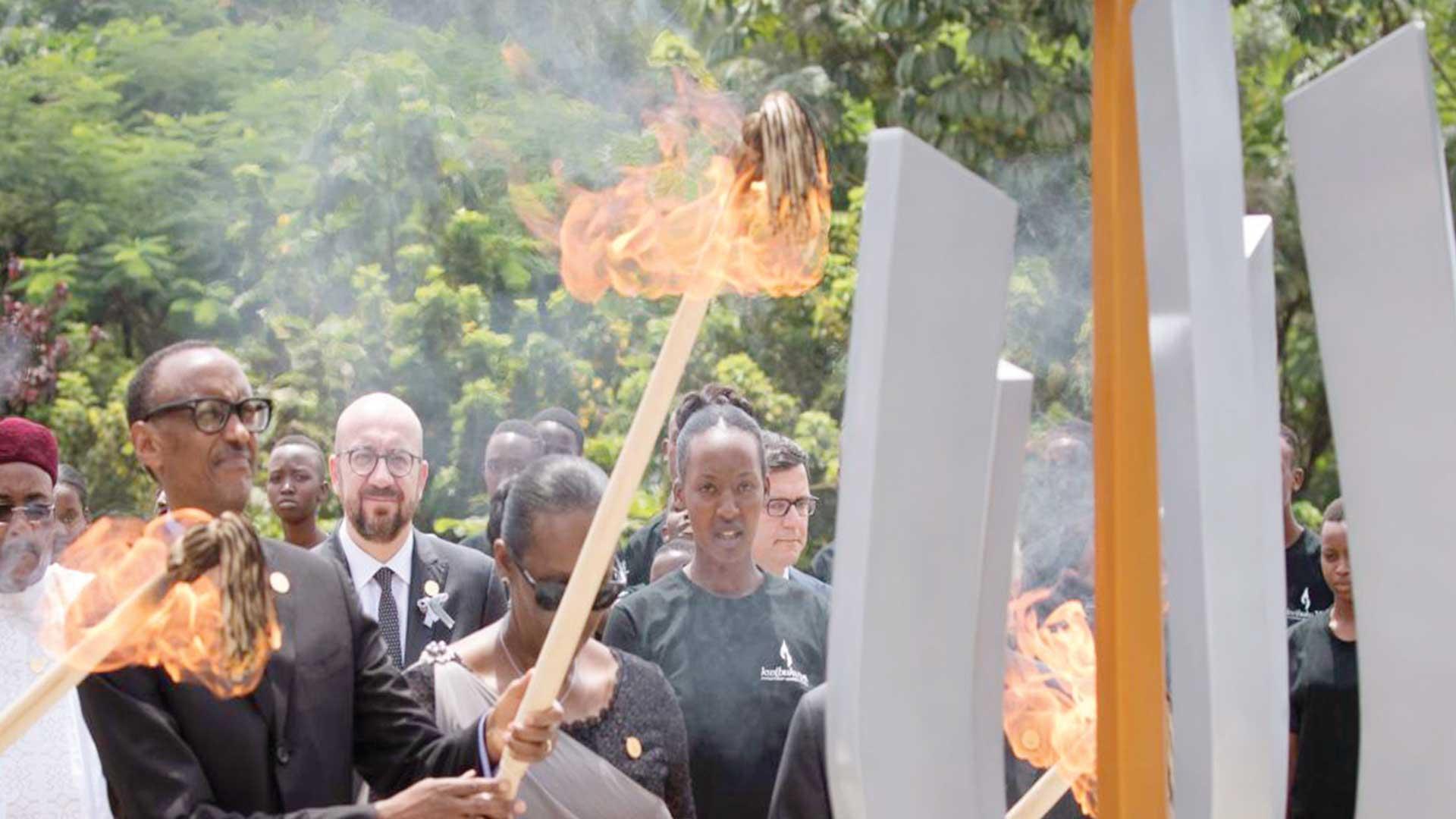 An 25 du génocide rwanda: Paul Kagame appelle à l'unité et au pardon