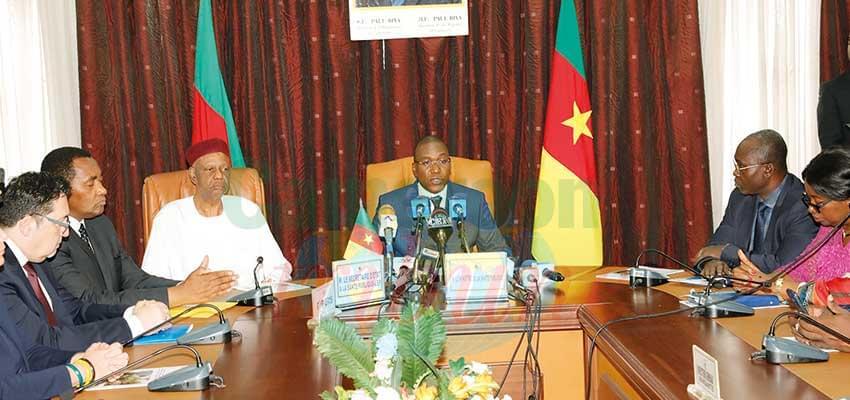 Le Minsanté a présenté les contours de l'opération face à la presse jeudi, 27 juin 2019 à Yaoundé.