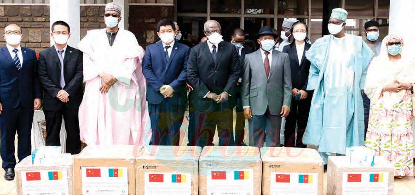 National Assembly : Chinese Construction Company Offers COVID-19 Kits