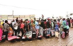 Plan d'assistance humanitaire d'urgence : plus de 2 500 familles réconfortées
