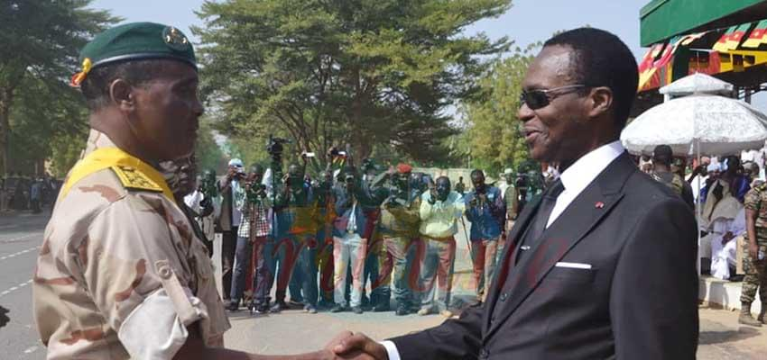 Le général de division Saly Mohamadou félicité par le Mindef
