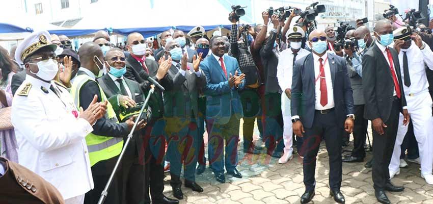 Douala Ports Authority:  Prime Minister Evaluates Rehabilitation Works