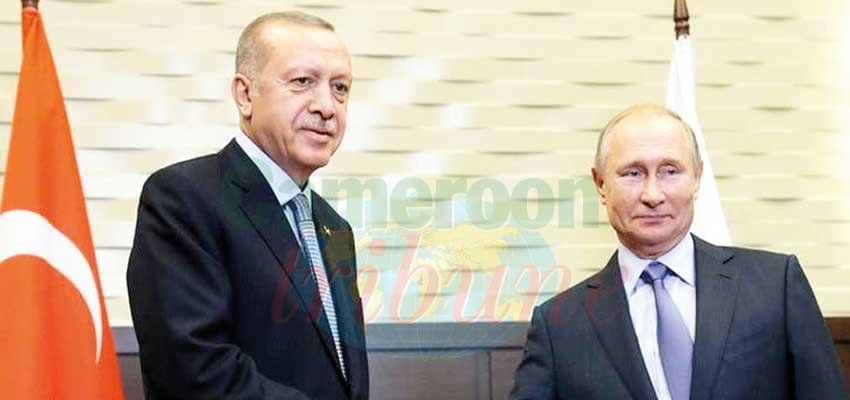 Libya : Putin, Erdogan Call for Cease-Fire