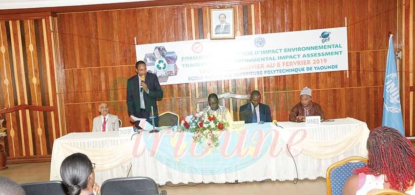 Environmental Impact Assessment : UNIDO Trains 50 Engineers
