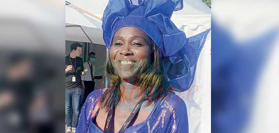 Aminata Diop Johnson, directrice du Pavillon Africain au Festival de Cannes.