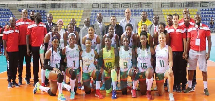 CAN de volleyball Dames : le Cameroun champion
