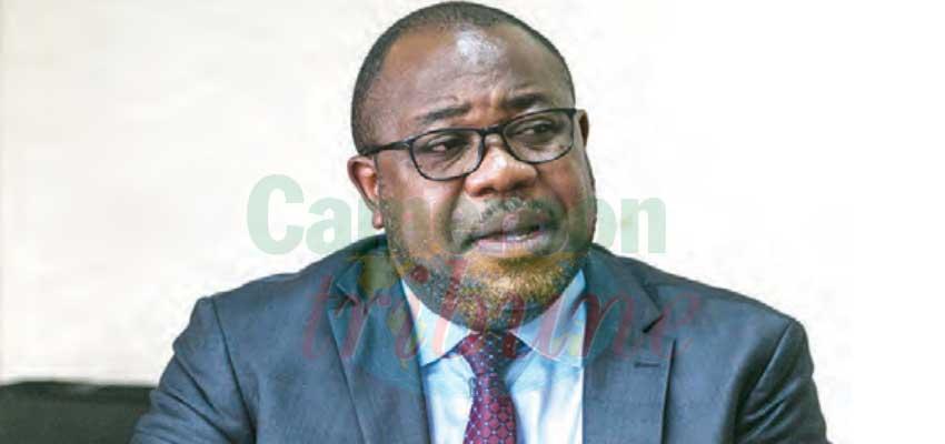Emile Ella Ngbwa, directeur des ressources humaines au ministère de la Santé publique.